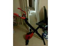 Folding exercise bike