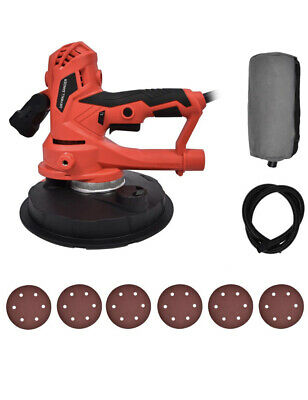 Fullwatt Electric Drywall Sander 710w With 5 Variable Speed Auto Dust Collection