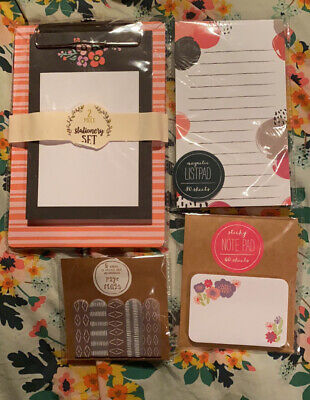Office Stationary Note Pad Set - New