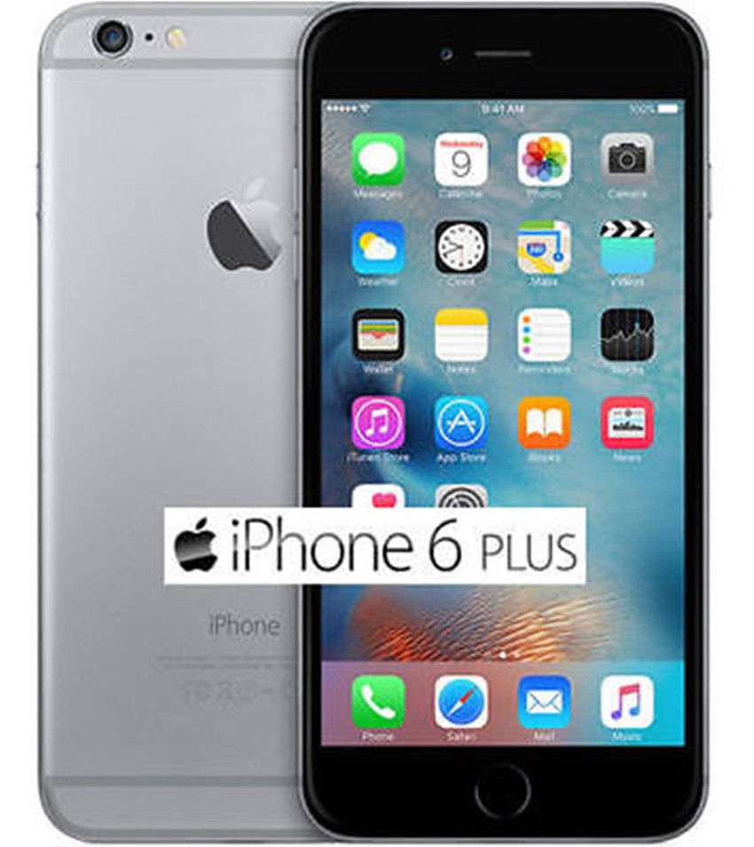 """Apple iPhone 6Plus 16GB 64GB Smartphone GSM""""Factory Unlocked"""" Gold Gray Silver T"""