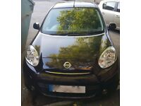 Nissan Micra that has only done 9500 miles, has been recently MOT'd, and has free road tax - SORN