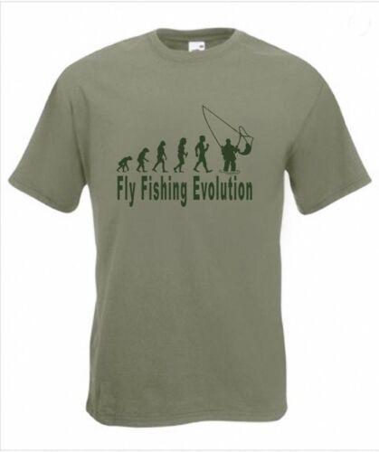 Fishing Evo Evolution Funny Womens Angling T-Shirt 12 Colours