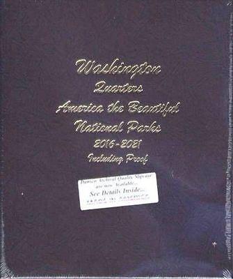 DANSCO National Park Quarters with Proofs 2016-2021 Album #8147