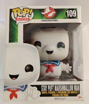 Funko Pop 109 Ghostbusters Stay Puft Marshmallow - Stay Puft Marshmallow Man Ghostbusters