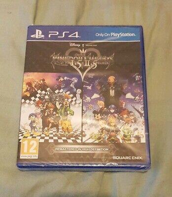 Kingdom Hearts HD 1.5 and 2.5 PS4
