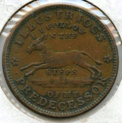 1837 Illustrious Predecessor Executive Experiment Hard Times Token Turtle BG948