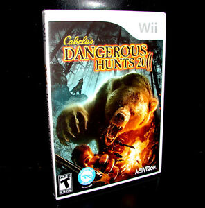 CABELA'S DANGEROUS HUNTS 2011   (Nintendo Wii)    ***NEW SEALED***