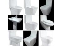 Monobloc toilets and hand basins - lots architectures and designs available