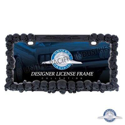 SKULL LICENSE PLATE FRAME (BLACK) CAR TRUCK SUV Car Truck Suv License Plate