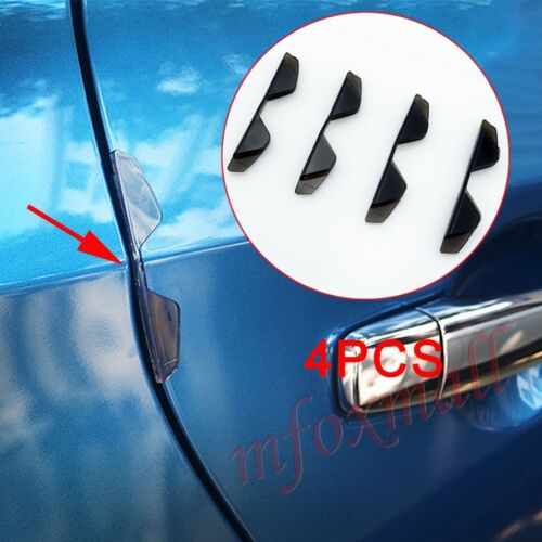 Brown Style Car Door Edge Guard Strip Bar Scratch Rubber Protector Anti-rub Trim