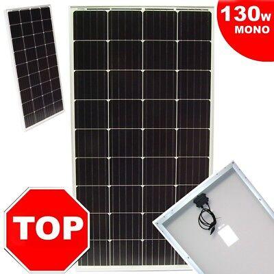 130w Solarpanel (55426 Solarpanel Solarmodul 130 W Solarzelle 12V Solar MONO Photovoltaik)