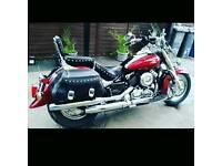 Yamaha xvs65 V-Star Dragstar classic silverado with only 8077 miles