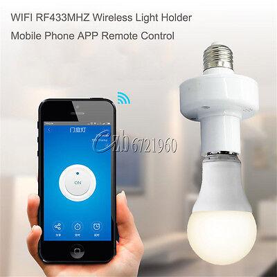 Sonoff WiFi 433MHz E27 Slampher Wireless Light Holder Smart Switch Module