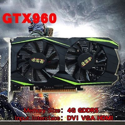 - For NVIDIA GeForce GTX960 4GB DDR5 128Bit PCI-E Gaming Video Graphics Card