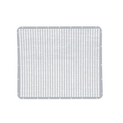 Peterbilt 379 Extended Hood Grille, Stainless Steel - Straight Oval Holes for sale  Rome