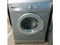 m476 silver beko 5kg 1400spin washing machine comes with warranty can be delivered or collected