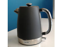Matt grey breville jug kettle electric graded with 12 month warranty can be delivered or collected