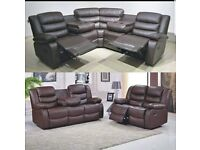 🐬🐬CLEARANCE STOCK MUST GO🐬🐬BRAND NEW RECLINER SOFA🐬🐬AVAILABLE NOW🐬🐬