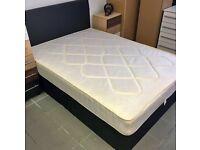 Divan Double Bed Base With Headboard ! Mattress (Optional) !!