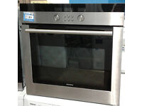 a321 stainless steel siemens single integrated electric oven comes with warranty can be delivered