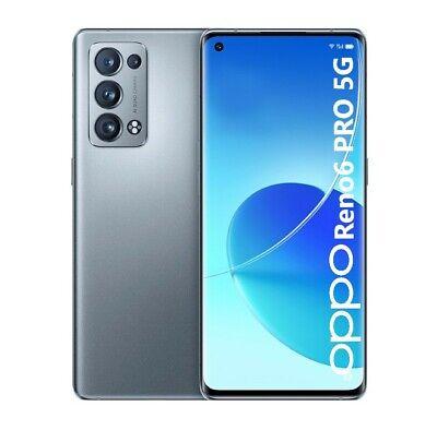 "Cellulare Smartphone OPPO Reno 6 PRO 5G Dual Sim 6,4"" 256GB+12GB RAM LUNAR GREY"