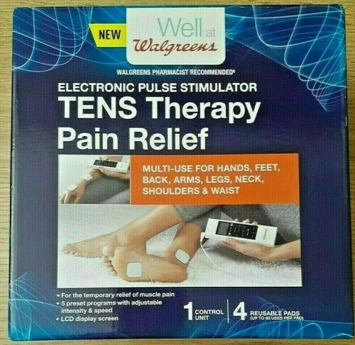 Walgreens TENS Unit MDTS111 Muscle Pain Relief Electronic Pulse Stimulator NEW!