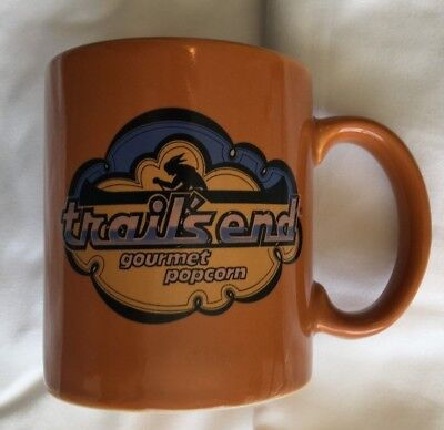 Rare Vintage Boy Scouts of America Coffee Mug *Trail's End Gourmet Popcorn*