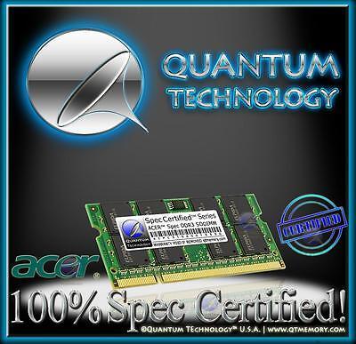 4GB RAM MEMORY FOR ACER ASPIRE ONE 722 SERIES DDR3 AO722-XXX LU.SFT02.XXX NEW!!!