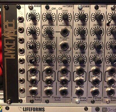 Tiptop Audio HATS808 Eurorack Drums HiHat 808 Roland Clone Modular