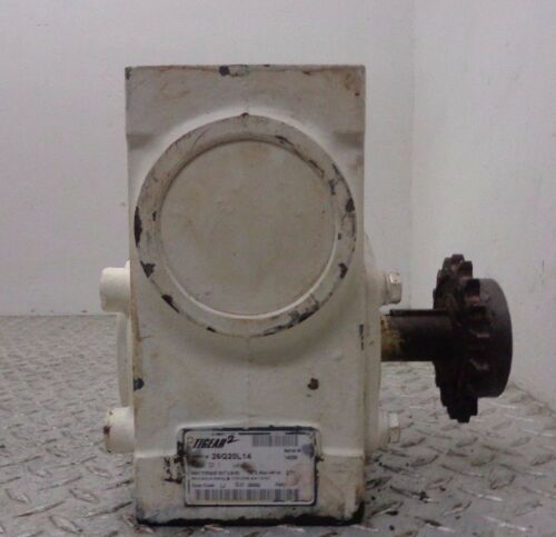 DODGE TIGEAR GEAR SPEED REDUCER RATIO 20:1 # 17Q20L14 MOTOR SPECIFICATIONS