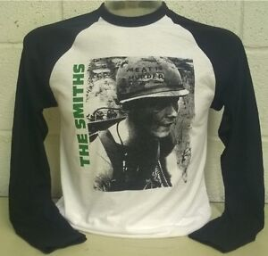 The Smiths -Meat is Murder- Long Sleeve Baseball T-Shirt