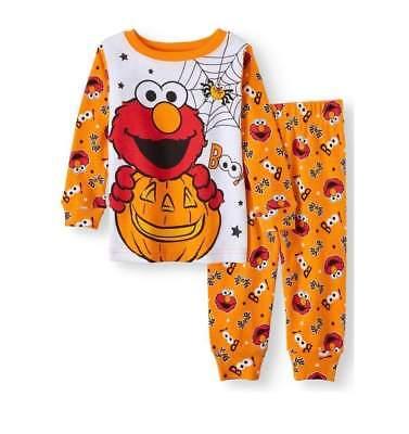 SESAME STREET ELMO HALLOWEEN BABY PAJAMAS SIZE 9 12 18 24 MONTHS NEW! - Sesame Street Halloween