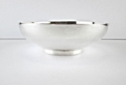 Vintage Mexico Sterling Silver Bowl