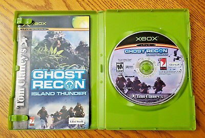 Tom Clancy's Ghost Recon: Island Thunder (Microsoft Xbox, 2003) (Clancys Ghost Recon Island Thunder)