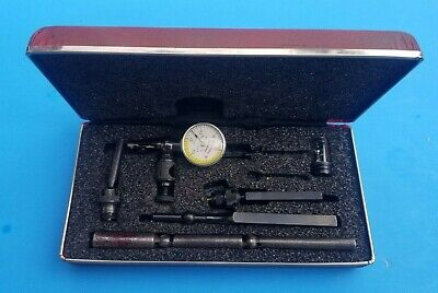 Starrett Last Word Dial Indicator No 711 W Case-box Attachments