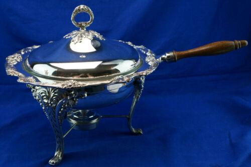 """Reed & Barton King Francis #1636 Chafing Dish, 13"""""""