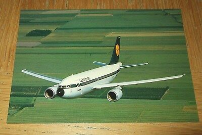 Lufthansa Airbus A310 branded postcard MINT CONDITION early c/s