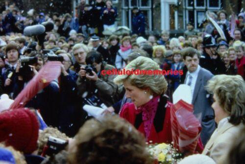 Original 35mm Slide Vintage Princess Diana Lady Spencer # 136