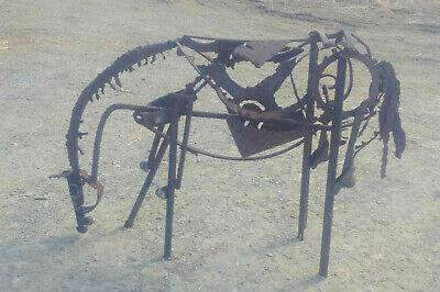 Metal Horse Sculpture Welded Art Steel Equestrian Original Garden Decoration ()