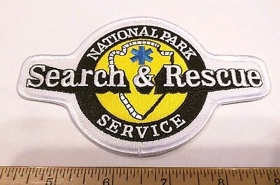 National Park Service Search and Rescue Patch