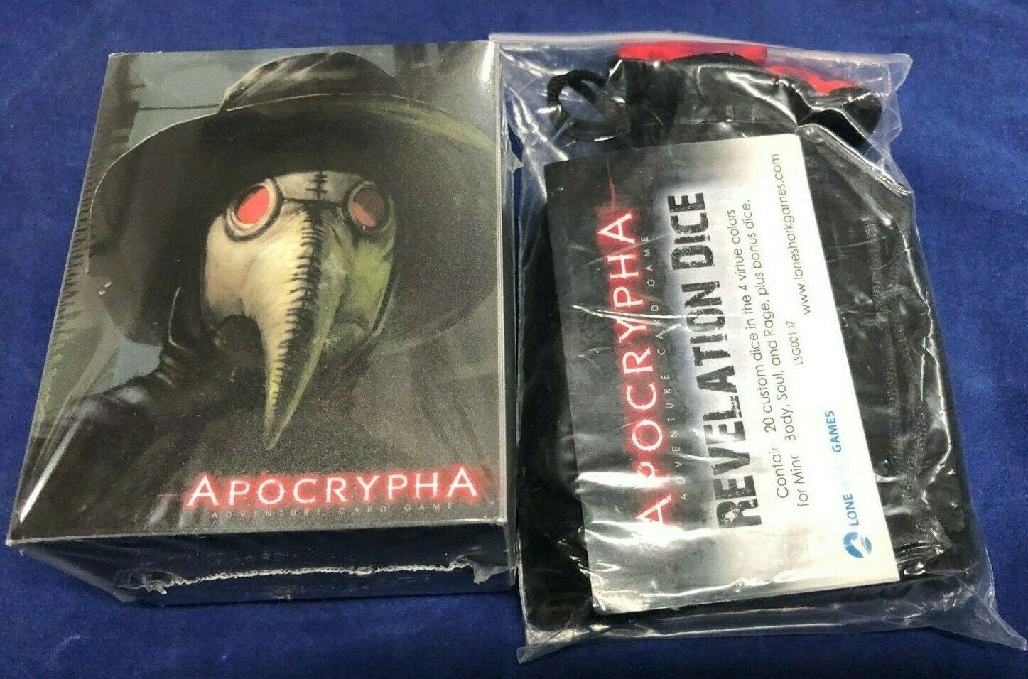 apocrypha adventure card game deck box