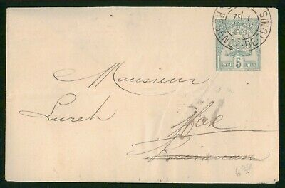 Mayfairstamps Tunisia Used Stationery cover wwo89147