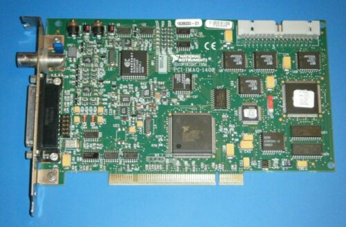 NI PCI-1408 IMAQ 4 Channel Image Acquisition, National Instruments *Tested*