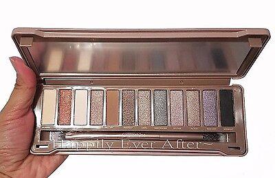 Neutral Eye shadow Palette- Beauty Creations Barely NUDE Eyeshadow Palette (Eye Shadow Neutral Palette)