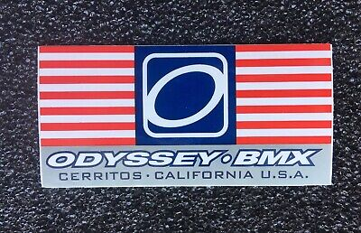 """NOS OLD SCHOOL BMX #3 NUMBER PLATE DECAL BLACK 5 3//4/"""" TALL"""