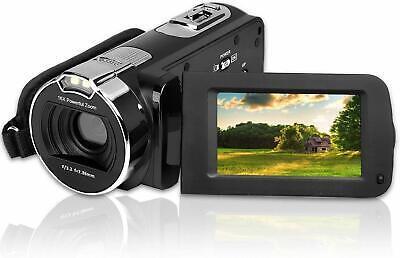CamKing HDV-312 Video Camera Camcorder 24MP HD 1080P 16X Digital Zoom Digital