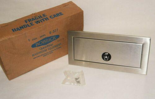 (NEW) BOBRICK B-527 B527 Stainless Trim Line Series Waste-Disposal Door