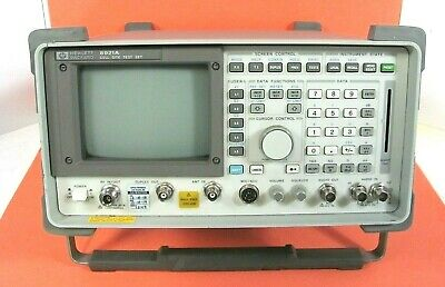 Hp 8921a Rf Communications Cell Site Test Set With Options G23 G93 Good Working