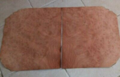 Madrone Burl Veneer 13 X 15 Each 2 Pieces Wood Rough Dark Spots