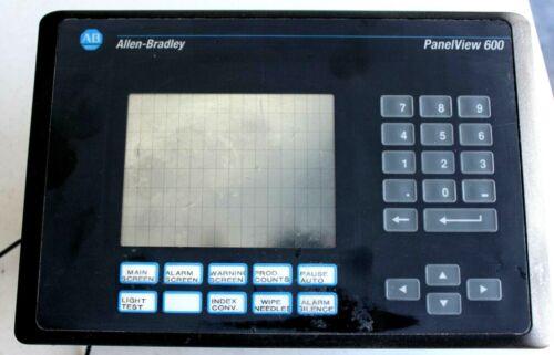 Allen Bradley Panelview 600 2711-B6C1   SER A